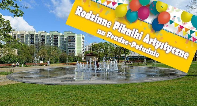 Imprezy plenerowe, sierpniu Rodzinne Pikniki Artystyczne Pradze Południe - zdjęcie, fotografia