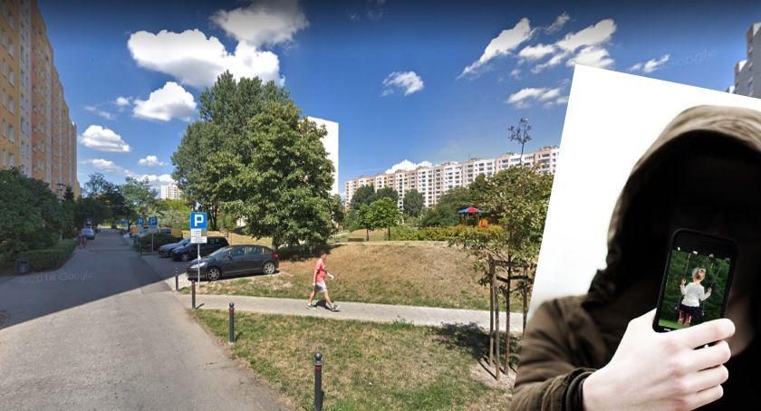Bezpieczeństwo, Mieszkanka Osiedla Ostrobramska ostrzega przed pedofilem - zdjęcie, fotografia