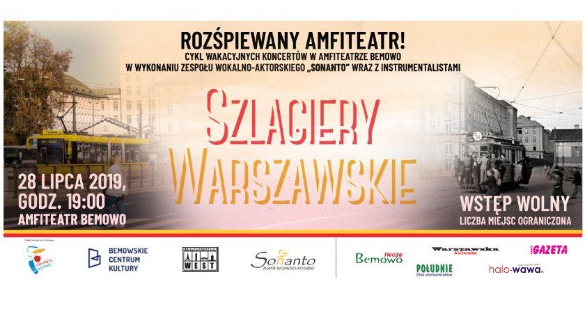 Imprezy plenerowe, wakacyjnych koncertów amfiteatrze Bemowo wstęp wolny! - zdjęcie, fotografia