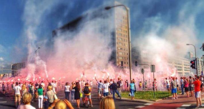 Historia, Rocznica Wybuchu Powstania Warszawskiego Gocławiu - zdjęcie, fotografia