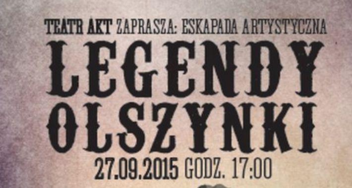Teatr, Legendy Olszynki zaproszenie - zdjęcie, fotografia