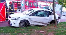 Wypadek na Fieldorfa - jest zarzut dla kierowcy