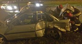 Straż pożarna publikuje zdjęcia z wypadku w Al. Stanów Zjednoczonych