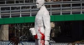 Zdewastowano pomnik Berlinga