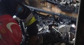 Pożar przy ul. Abrahama. Straż publikuje zdjęcia