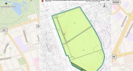 Jest projekt planu miejscowego dla ogródków działkowych przy ul. Kinowej