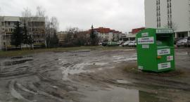 Bałagan po remoncie ulicy Mlądzkiej