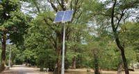Park Leśnika na Grochowie z ekologicznym oświetleniem