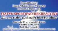 Festyn sportowo-rekreacyjny w Skaryszewskim