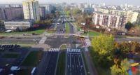 Tramwaj na Gocław - lot dronem nad projektowaną trasą