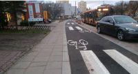 Ścieżka rowerowa przy ul. Łukowskiej, czyli 38 przejść dla pieszych na 1 km