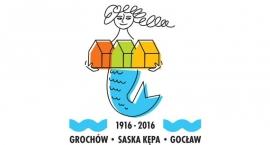 Logo obchodów 100 lecia przyłączenia Grochowa, Saskiej Kępy i Gocławia do Warszawy wybrane!