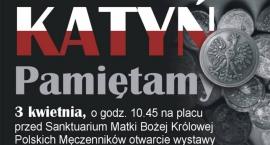 Katyń Pamiętamy! Otwarcie wystawy przed Sanktuarium Matki Bożej Królowej Polskich Męczenników
