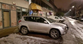 Szukamy skradzionego przy ul. Międzynarodowej samochodu
