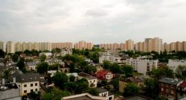 Panorama Grochowa z dachu Centrum Szembeka [ZDJĘCIA]