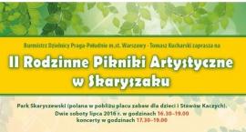 Dwa Pikniki rodzinne w lipcu w Parku Skaryszewskim