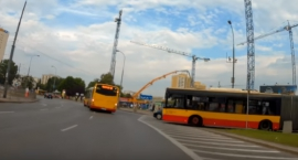 Gdyby nie refleks rowerzysty, doszłoby do tragicznego wypadku [wideo]