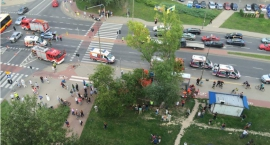 Tragiczny wypadek na ul. Fieldorfa na Gocławiu. Jedna osoba nie żyje