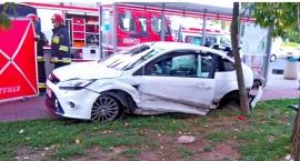 Straż publikuje zdjęcia z tragicznego wypadku na Gocławiu