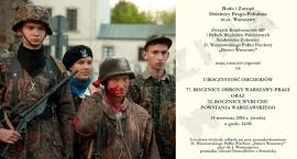 Obchody 77 rocznicy obrony Warszawy-Pragi oraz 72 rocznicy wybuch Powstania Warszawskiego