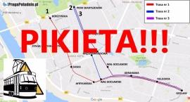 W sobotę pikieta przeciwko budowie linii tramwajowej z Gocławia do Al. Waszyngtona