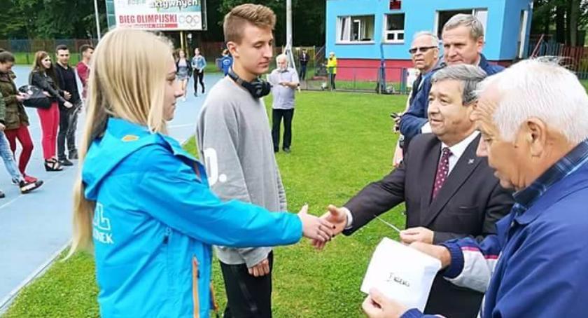 Klaudia Gawrych z MKL Szczecinek z Kółkiem Olimpijskim!