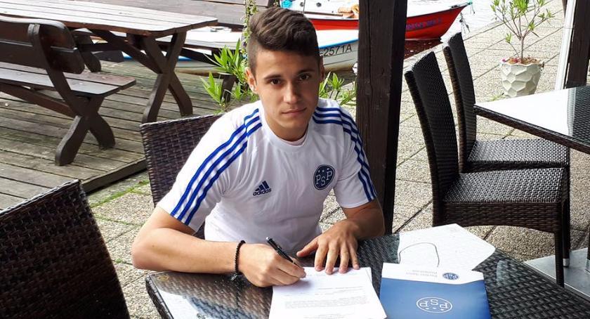 Michał Barański podpisał kontrakt z agencją Perfect Sport Promotion