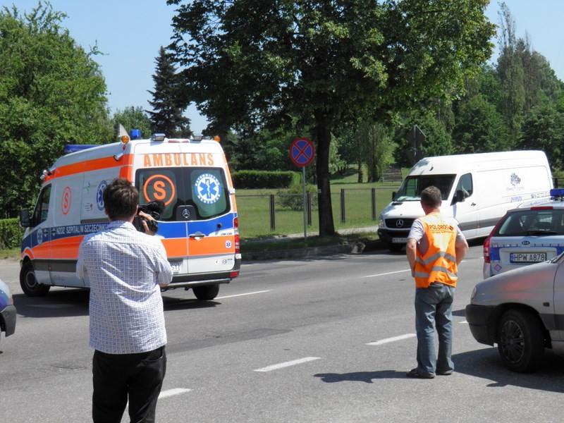 temat.net: archiwum, Niebezpiecznie obwodnicy Słońce znaki kierowcom - zdjęcie, fotografia