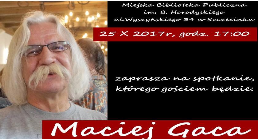Imprezy, Spotkanie Maciejem Gacą Wygraj książki! - zdjęcie, fotografia