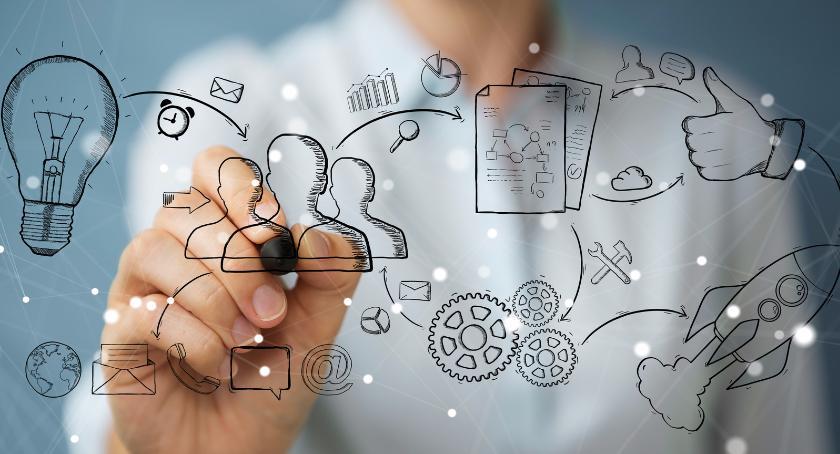 Porady, oznacza optymalizacja procesów biznesowych - zdjęcie, fotografia