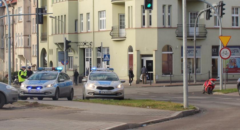 Zderzenie z motorowerzystą na ul. Wyszyńskiego w Szczecinku