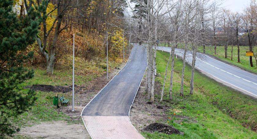 Inwestycje i remonty, Ścieżki rowerowe Szczecinku nareszcie asfaltowe Przynajmniej części - zdjęcie, fotografia