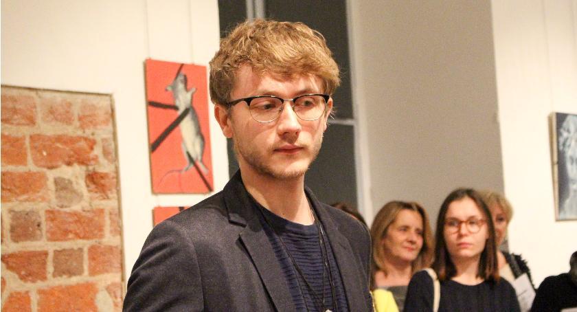 Paweł Tymcio. Malarz - polityk i jego wernisaż
