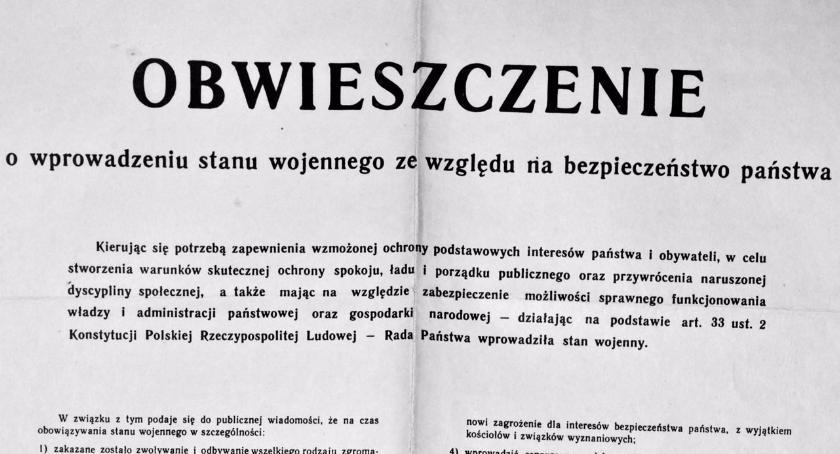 """Stan wojenny w Szczecinku.  """"Panie kierowniku, nich pan się ukryje, bo są aresztowania."""""""