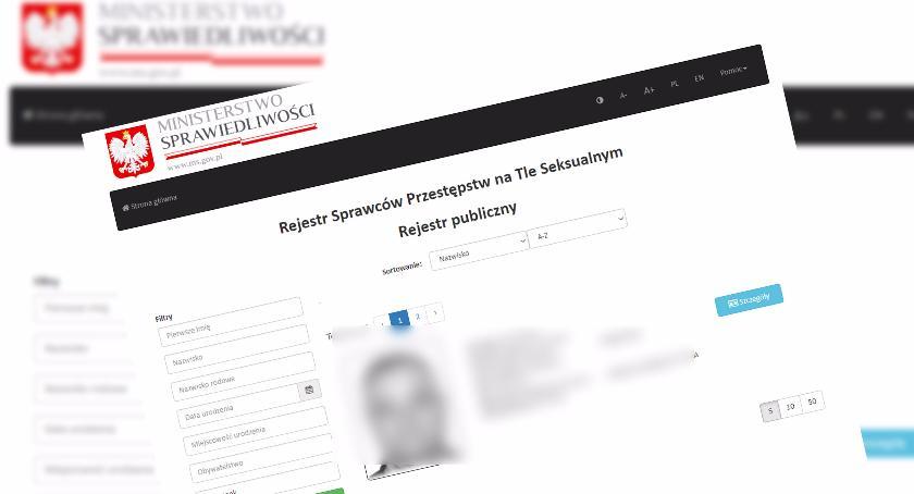 Policja, groźnych pedofili gwałcicieli dostępne internecie Szczecinka - zdjęcie, fotografia