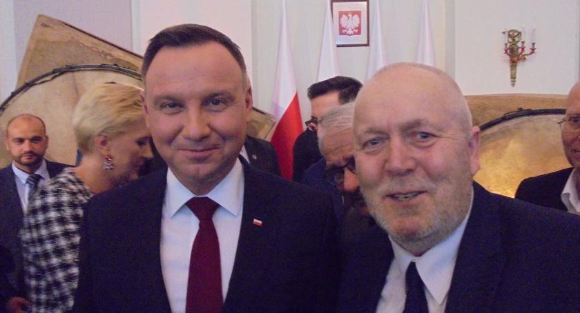 Imprezy, Andrzej bywał rybach Bornem Stacja Kultura wizytą Pałacu Prezydenckim - zdjęcie, fotografia