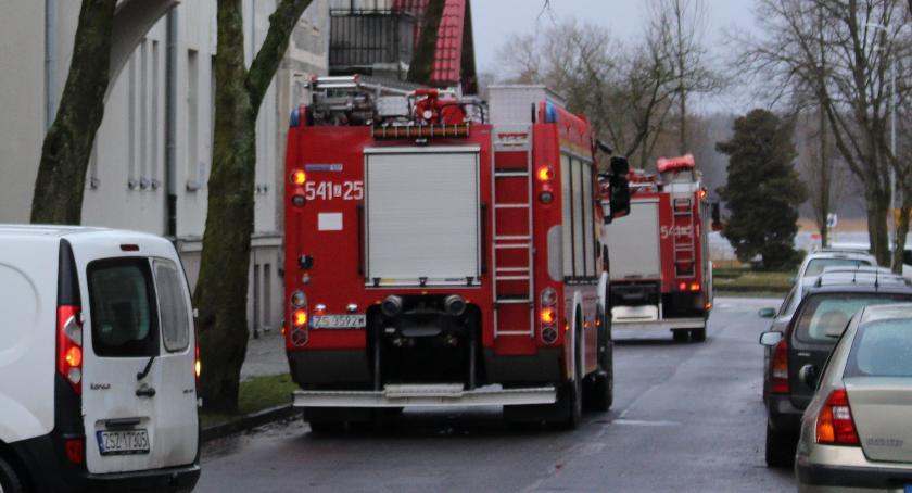 Straż Pożarna, Tlenek węgla mieszkaniu Pileckiego kolejny - zdjęcie, fotografia