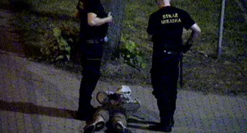Najlepszy strażnik miejski w Szczecinku? Kamera monitoringu