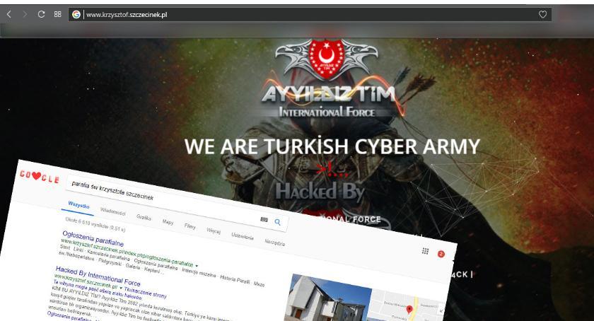 Strona szczecineckiej parafii padła ofiarą ataku tureckich hakerów