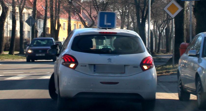 Nauka jazdy na ulicy Szczecinka
