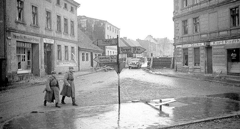 27 lutego 1945. Neustettin zdobyty, Niemcy uciekają, zdobywcy grabią