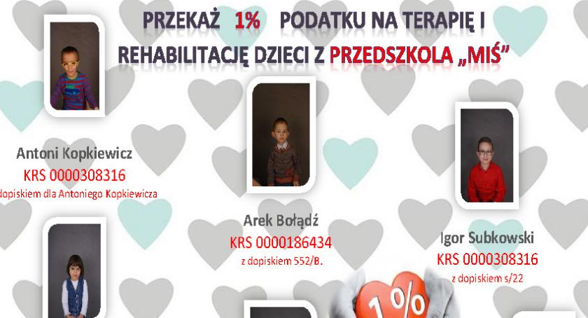 Dzieci i młodzież, Przekaż podatku terapię rehabilitację dzieci przedszkola Miś! - zdjęcie, fotografia