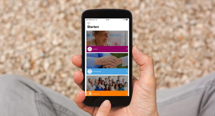 Porady, Hausengel Linara prezentują nową aplikację nauki języka niemieckiego opiekunów seniora - zdjęcie, fotografia