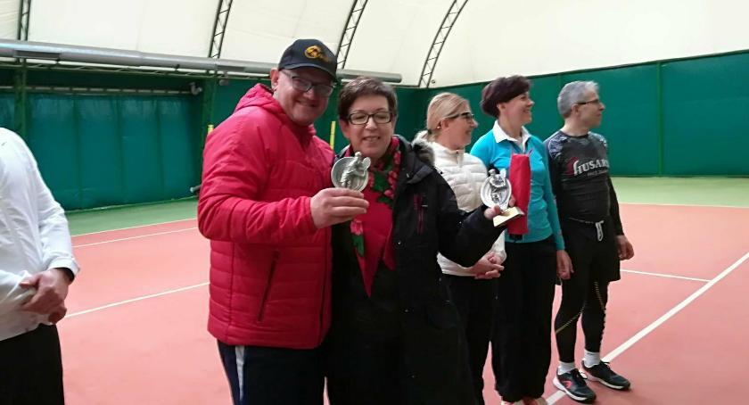 Grali w turnieju tenisa ziemnego