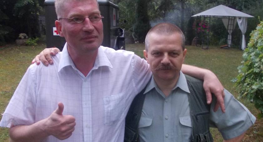 prof. Przemysław Żurawski i Sławomir Szadkowski