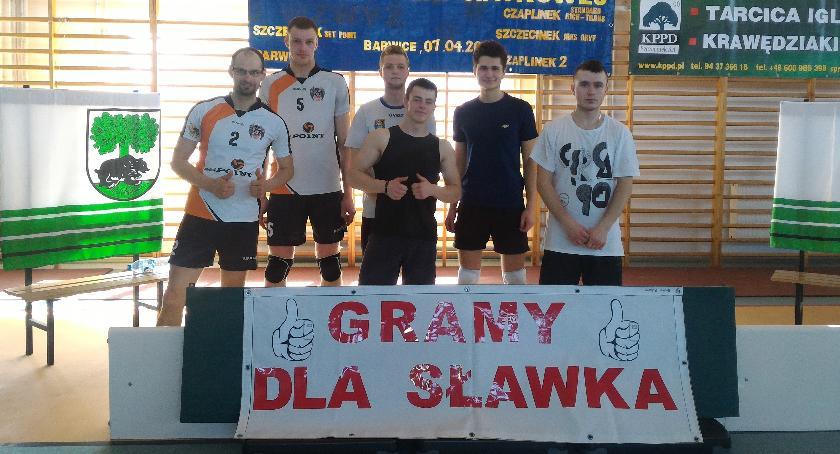 W Barwicach grali dla Sławka