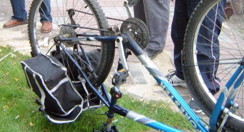 Aktualności, Uwaga złodziei części rowerowych! - zdjęcie, fotografia