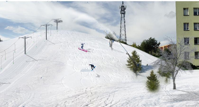 Wyciąg narciarski powstaje bez biznesplanu. Opłacać się nie musi, podrożeje, ale i tak będzie