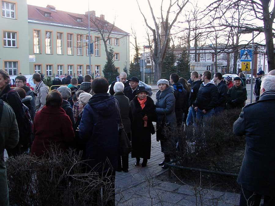 temat.net: archiwum, Szczecineckie obchody Pamięci Żołnierzy Wyklętych - zdjęcie, fotografia