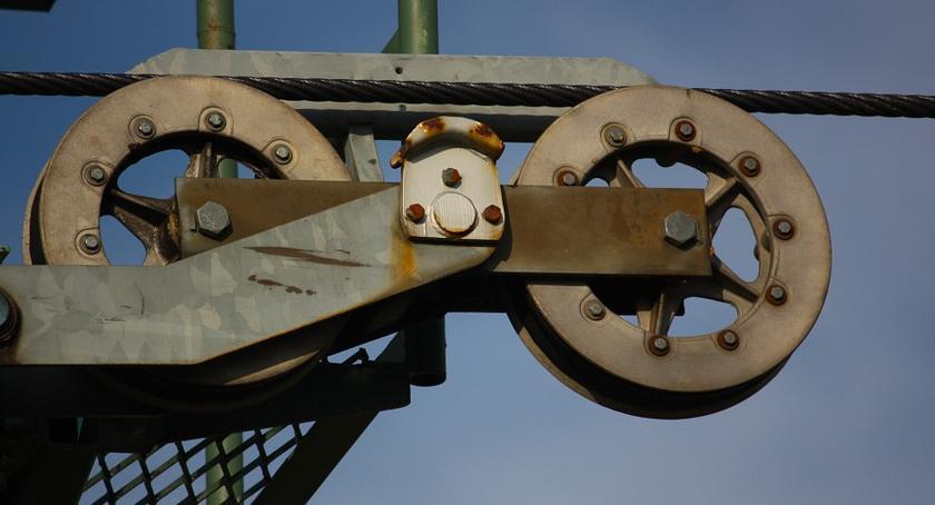 Porady, koło pasowe - zdjęcie, fotografia